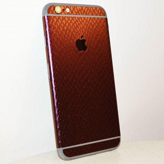 Snake #Skin on #iPhone #6S #oplix