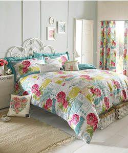 Kirstie Allsopp Megan Multicoloured Bedding Set - Double.