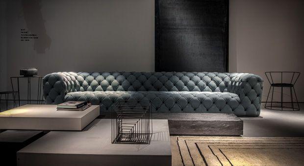 LUXURY SOFA | Anna Casa Interiors - Online Catalogue - Luxury Italian furniture from Baxter, Manooi, Visionnaire, Creazioni & Mimo | bocadolobo.com/ #modernsofa #sofaideas