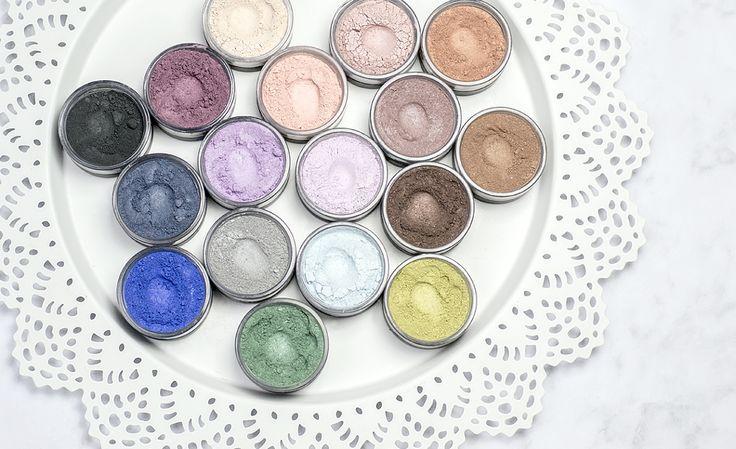 Cienie mineralne: 17 kolorów Annabelle Minerals • IdaliaStyle.pl