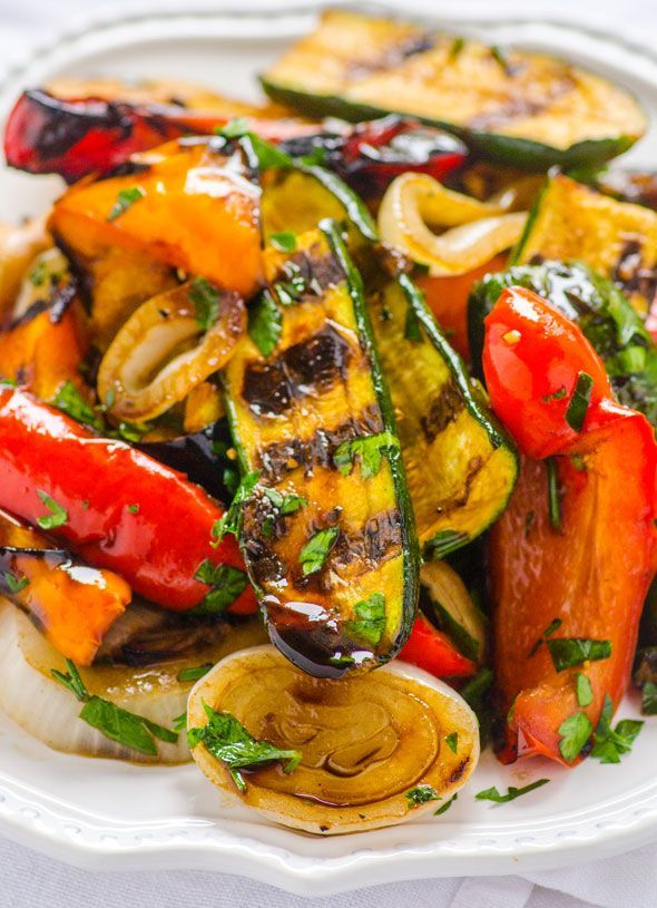 The Balsamic Marinade makes this dish special. The longer it sits, the more fragrant it becomes. Same goes for the vegetables – they taste e...