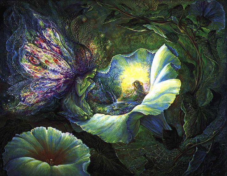 7 das Artes: A arte fantástica de Josephine Wall.                                                                                                                                                                                 Mais