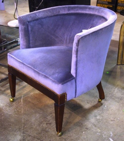Purple Leather Dining Chairs: Purple Chair ..ReStoreWorcMA.. $24