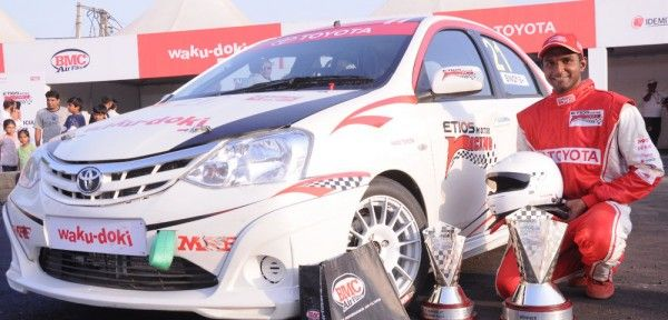 Etios motor racing, an event hosted by Toyota made its presence felt in Gurgaon with an Autocross format which gathered in crowds. Other than the race event, there were many off the track activities which kept the spectators interested. The race events were divided into four categories namely, EMR drivers, Celebrity drivers, Media and All Stars.