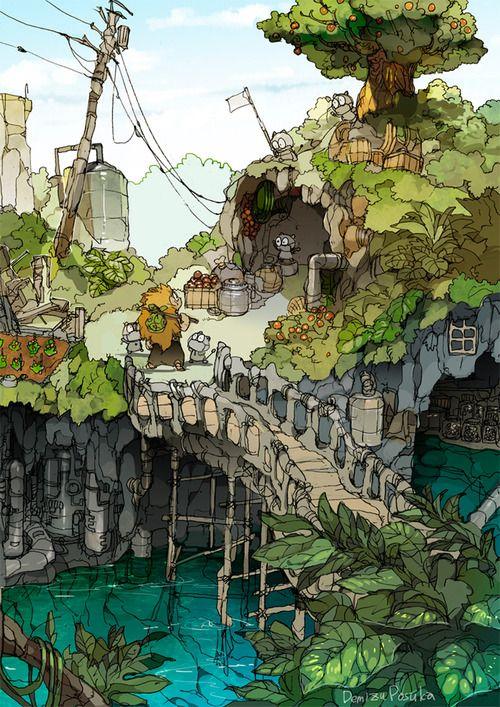 The Art Of Animation Demizu Posuka
