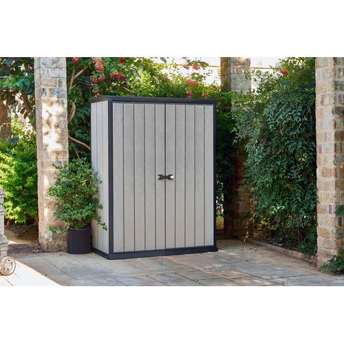 Found it at Wayfair - 5 Ft. x 3 Ft. Plastic Garage Shed