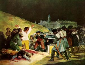 3rd of May By Francisco Goya Prado Müzesi