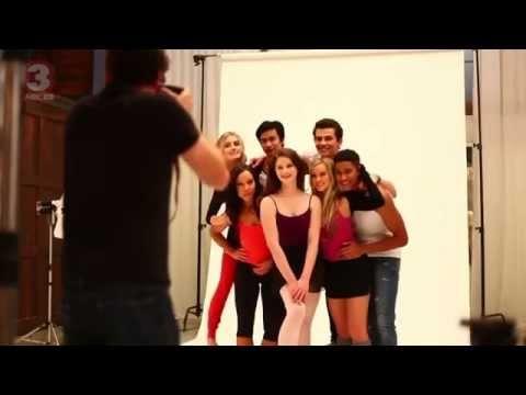 Dance Academy Season 3 photoshoot