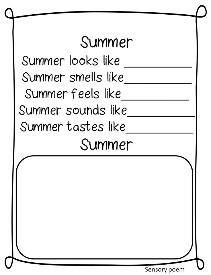 First Grade Wow: The Days of Summer! A send home packet of fun!