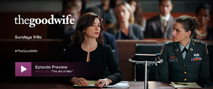 THE GOOD WIFE  My absolute favorite show 2011, 2012 and 2013
