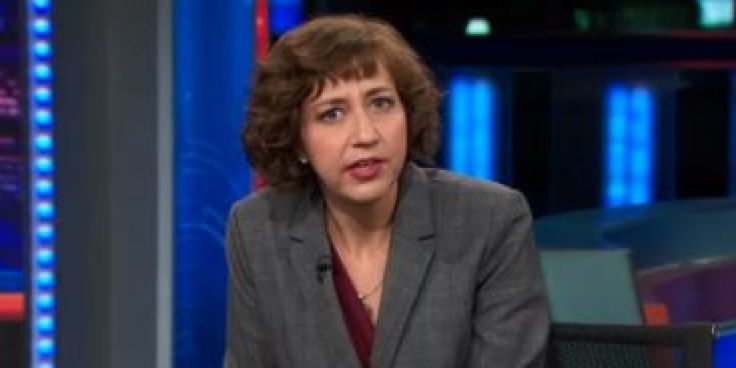 """While some people bemoan the rise of the sexy Halloween costume, Kristen Schaal celebrates the """"one night"""" a year that women get to be viewed as sexual objects. Watch Schaal explain why sexy Halloween costumes are actually a sign of progress and unveil her own line of sexy costumes for men and women in the """"Daily Show"""" clip above."""