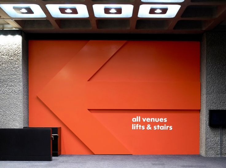 Barbican Signage:  Cartlidge Levene and Studio Myerscough