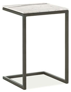 Parsons C-Table - End Tables - Living - Room & Board