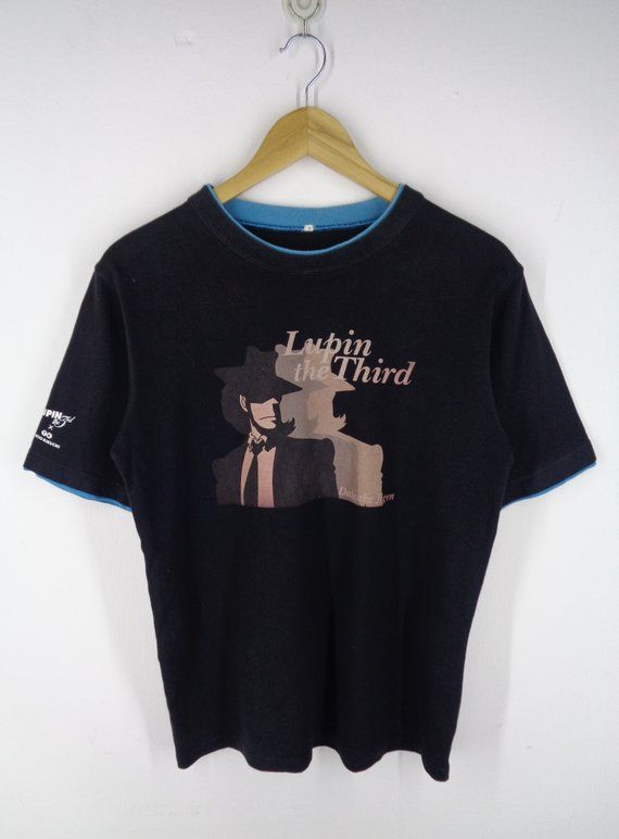 Lupin III Shirt Lupin the 3rd Shirt Daisuke Jigen Shirt