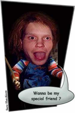 #CharlesLeeRay #Chucky #ChuckyDoll #GoodGuyDoll