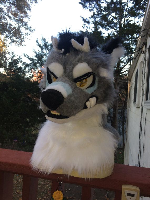 Fursuit Head Commission by FawnEttaCreations on Etsy