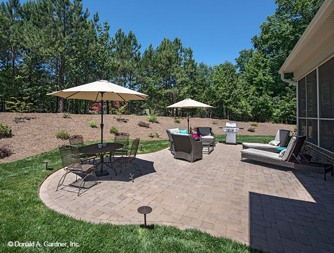 Superb This Patio Is The Perfect Spot For Summer Lounging! The Travis Home Design  #1350