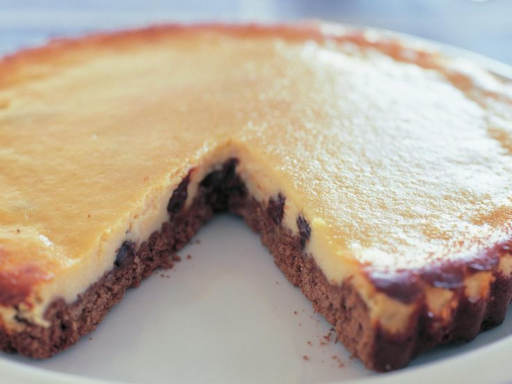 Chocolate ricotta tart, chocolate recipe, brought to you by Australian Women's…