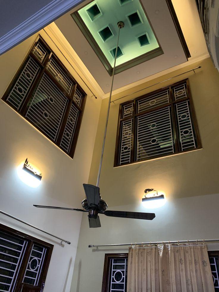 Ceiling design double height | Ceiling design, Design ...
