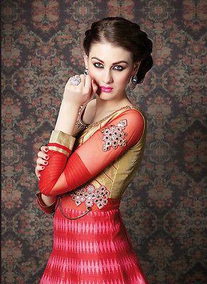 Designer anarkali salwar kameez wedding suit dress indian pakistani Bollywood