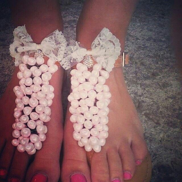 My handmade sandals