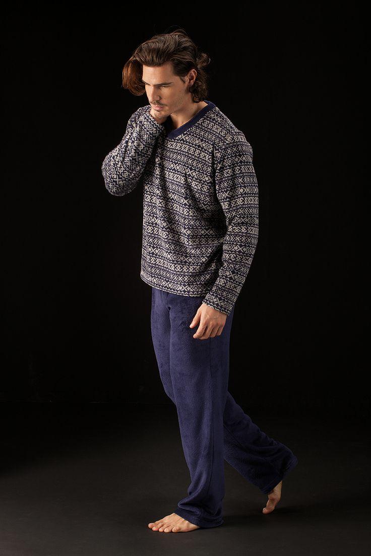 Pijama cozy con estampado invernal de Soy Sleep&Homewear Collection