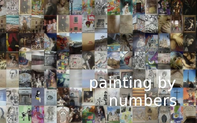 Painting by Numbers - A new novel by Tom Gillespie- out 06.09.12
