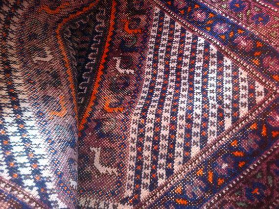 High Quality Old Qashqai Vintage Home Decor  Wall Hanging  qashqai rug  shiraz rug decor tribal rug  handmade rug  vintage rug persian rug