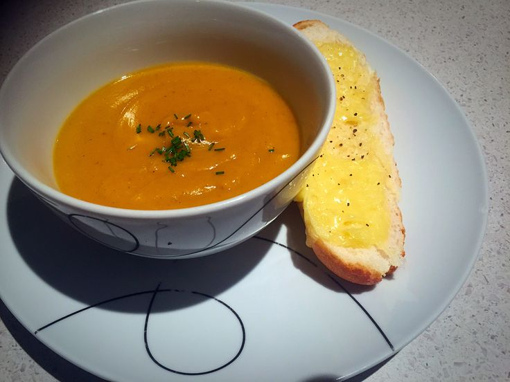 Roasted Pumpkin and Sweet Potato Soup |