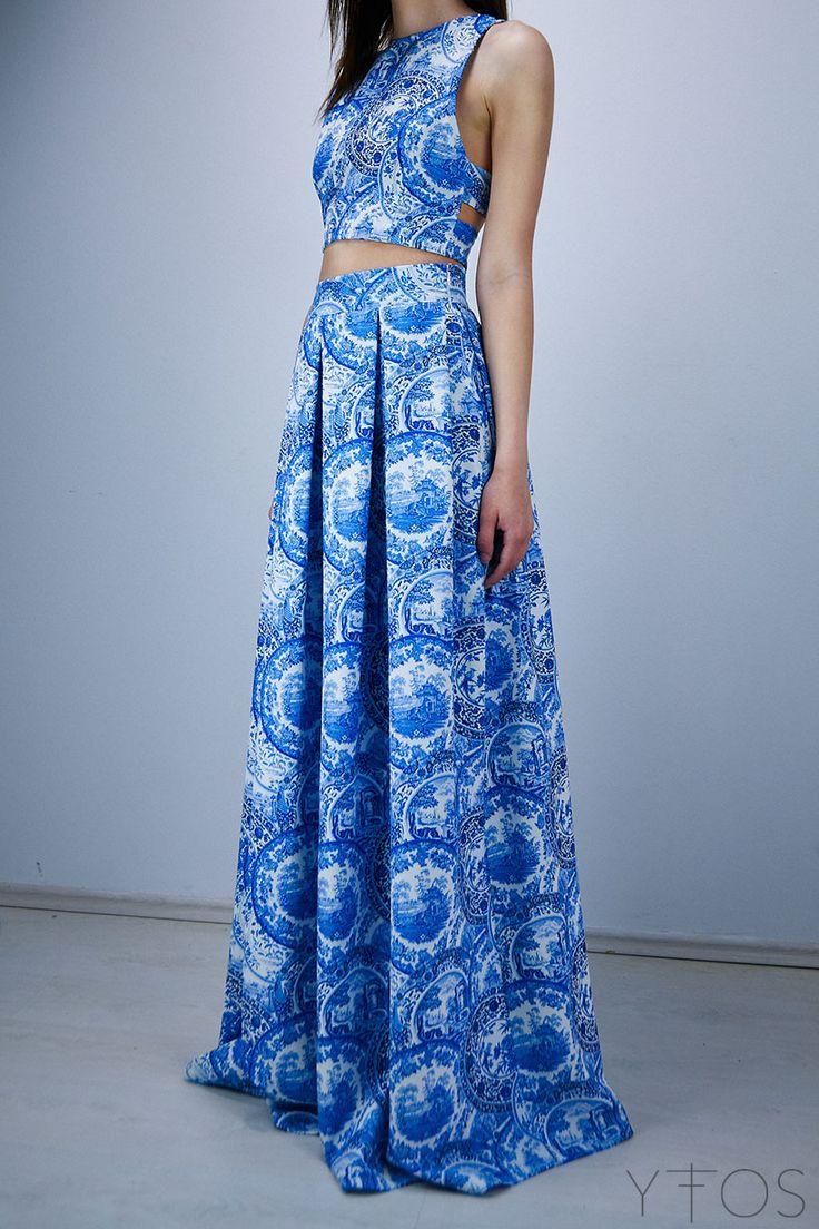 Karavan : Adella Porcelain Maxi Skirt