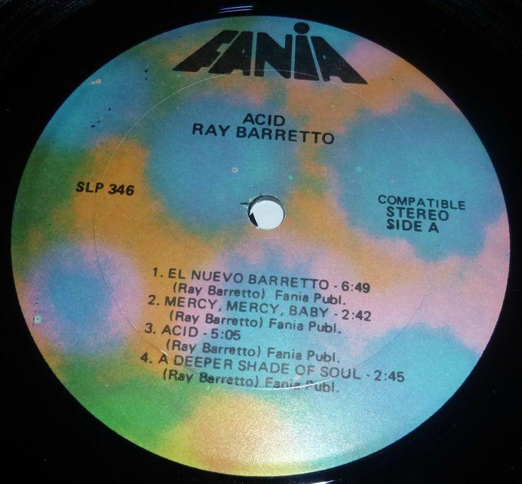 Ray barretto Acid original Fania Label