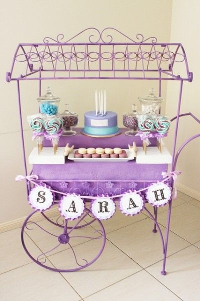 purple + aqua: cupcakes and lollipops party by Sharnel Dollar Designs