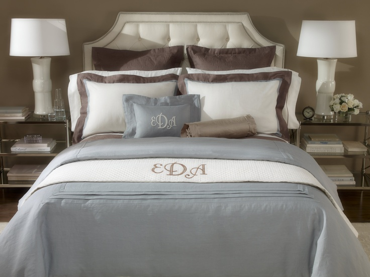 ethan allen bedrooms. The Allison Bed by Ethan Allen styled with custom monogrammed bedding  45 best Bedrooms images on Pinterest furniture