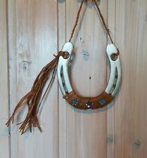 Hufeisen Glücksbringer Indianer Glück Pferde Geschenk Silber