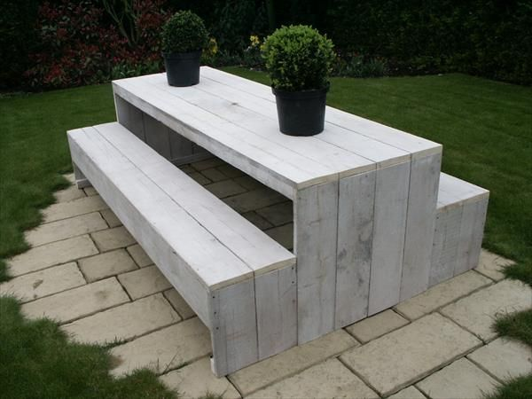 garden furniture made from pallets pallet idea - Garden Furniture Out Of Pallets