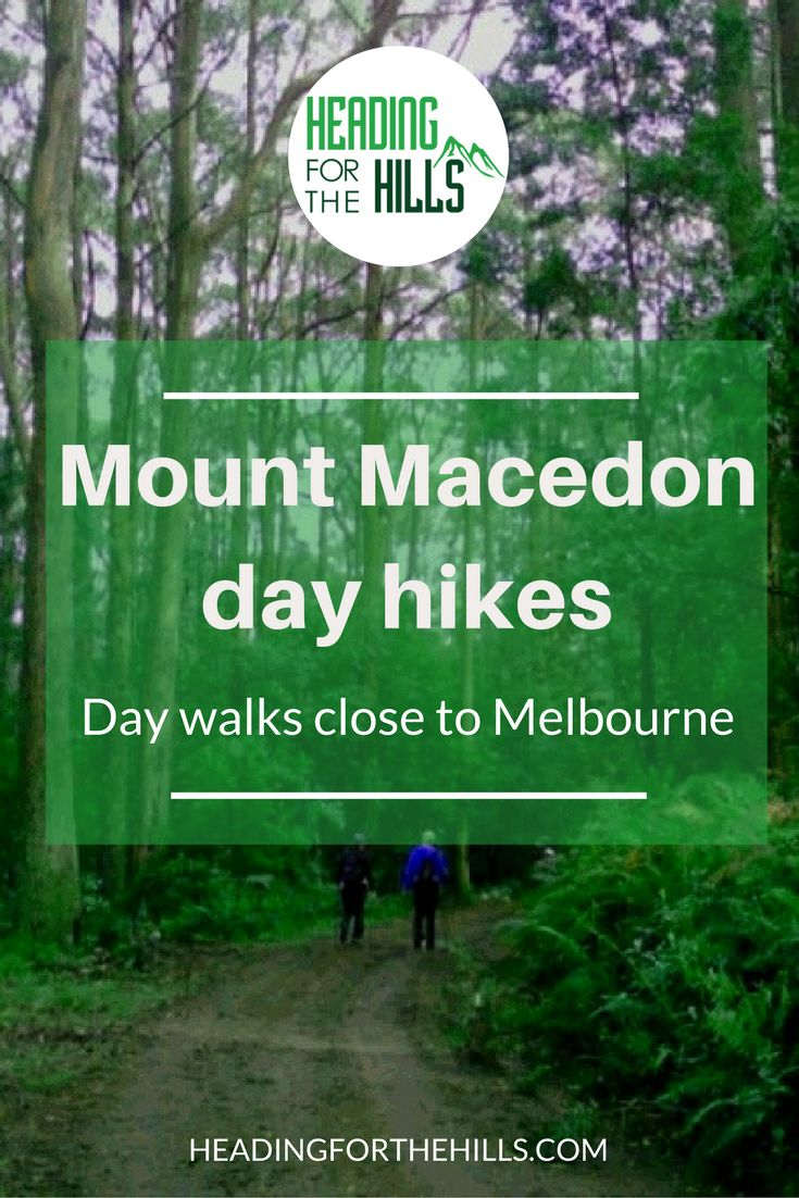 Visit scenic Mount Macedon, an hour from Melbourne, for some magnificent day hikes.