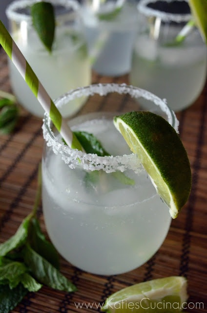 Sparkling Vietnamese Limeade: Light and refreshing add alcohol or not