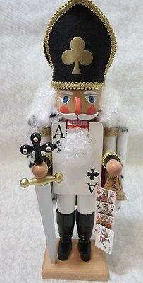 Ace of Clubs German Nutcracker - I love Nutcrackers!