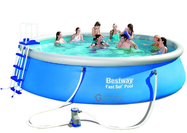 BESTWAY 57291 PISCINA AUTOPORTANTE FAST SET CM.549x122h. http://www.decariashop.it/piscine-autoportanti/20802-bestway-57291-piscina-autoportante-fast-set-cm549x122h.html