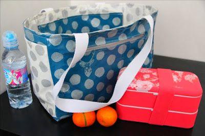 Tuto pour réaliser un Lunch Bag (sac déjeuner). Blog LaisseLuciefer