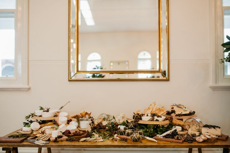 Julian and Catherine Melbourne Abbotsford Convent Wedding - Vintage styled wedding reception - Melbourne documentary wedding photographer Elleni Toumpas