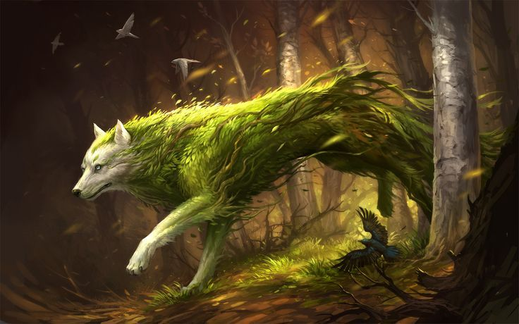 Espírito de planta do Alectorfencer por sandara monster besta criatura animal | Crie …   – Epic Animals