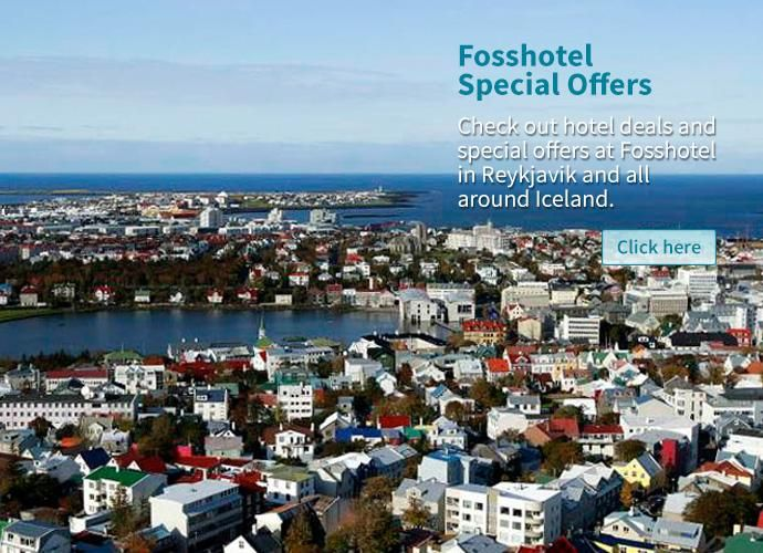 Fosshotel offers best holidays packages with accommodation facilities in Iceland. For best quality accommodation in Reykjavik, contact us today!