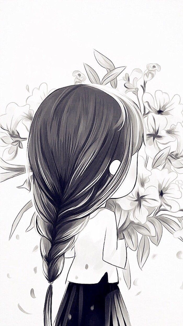 小薇的世界光 插画 壁纸