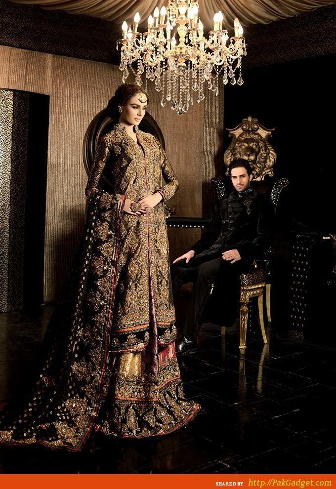 Pakistani Fashion. Cara Bridal Wear 2013-2014 - Gul Ahmed, Firdous Lawn, Sana Safinaz, Swiss Lawn