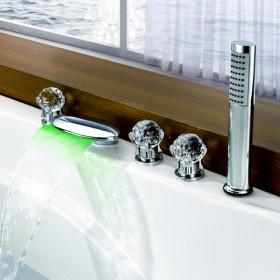 Farbwechsel LED Badewanne (nur wasserfall, rest nicht schoen)
