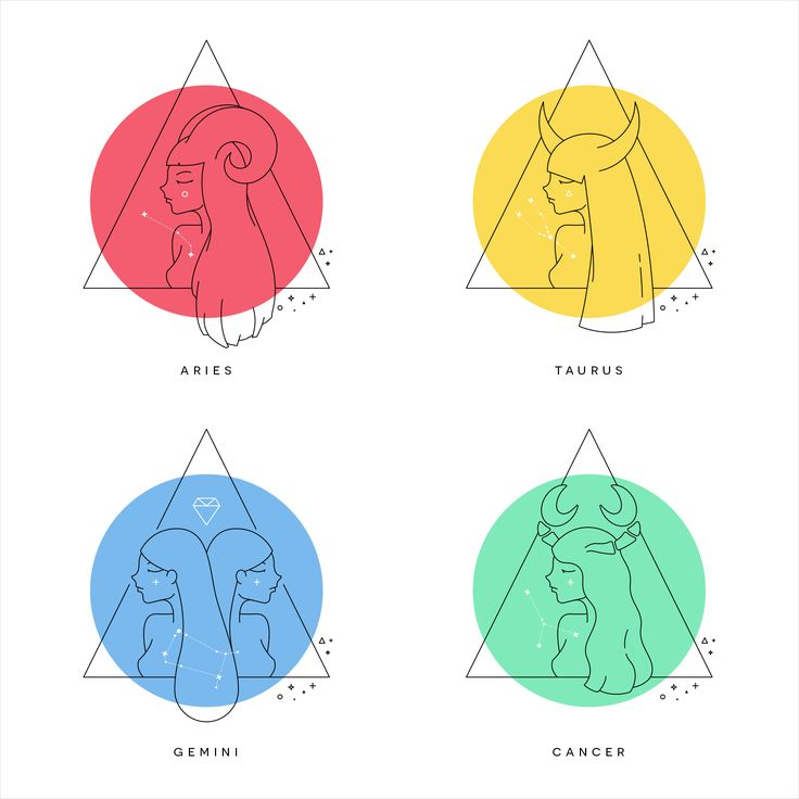 Zodiac Illustrations