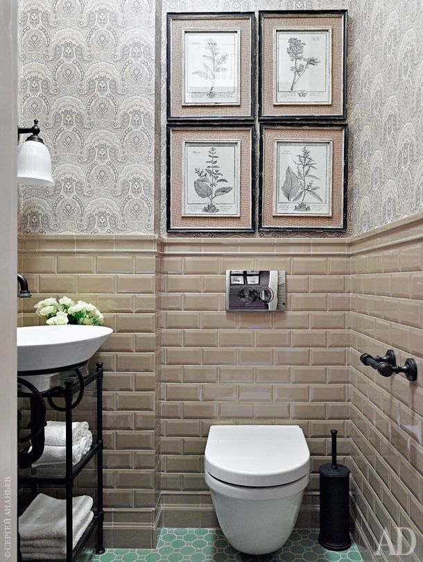 Metro tiles / subway tiles / плитка кабанчик / bathroom / ванная / санузел…