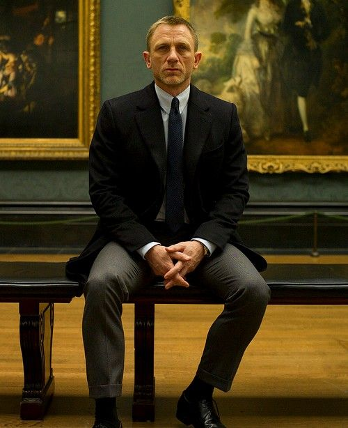 Just watched Skyfall and you've got to love DC as James Bond