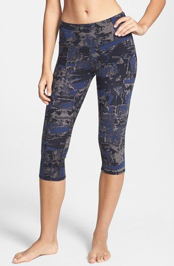 Alo 'Airbrushed' Capri Leggings available at #Nordstrom